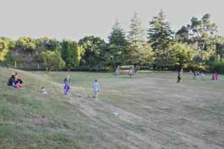während dem gestrigen FMS Fussballspiel